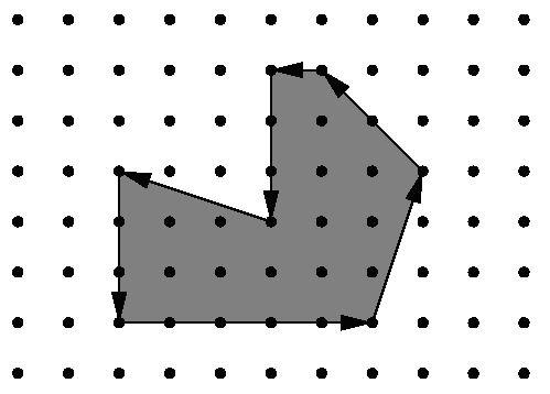 【poj1265】Area